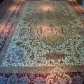 Persian Tabriz Wool and Silk Rug