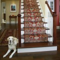 Rug Padding Rods Staircase Installation
