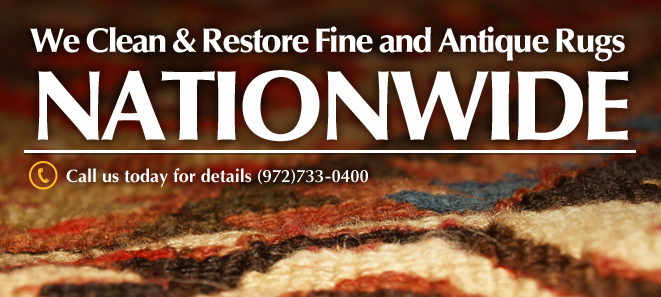 We Clean and Restore Fine and Antique Rugs Nationwide