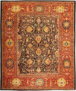 clean Persian rug