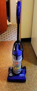 No beater brush vacuum here
